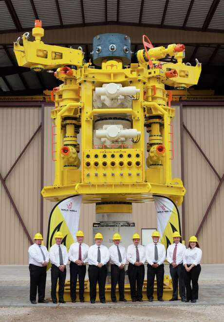 Houston-based Wild Well Control has stationed a $22 million capping stack in Singapore as part of a system for responding  to undersea well blowouts. Photo: Wild Well Control
