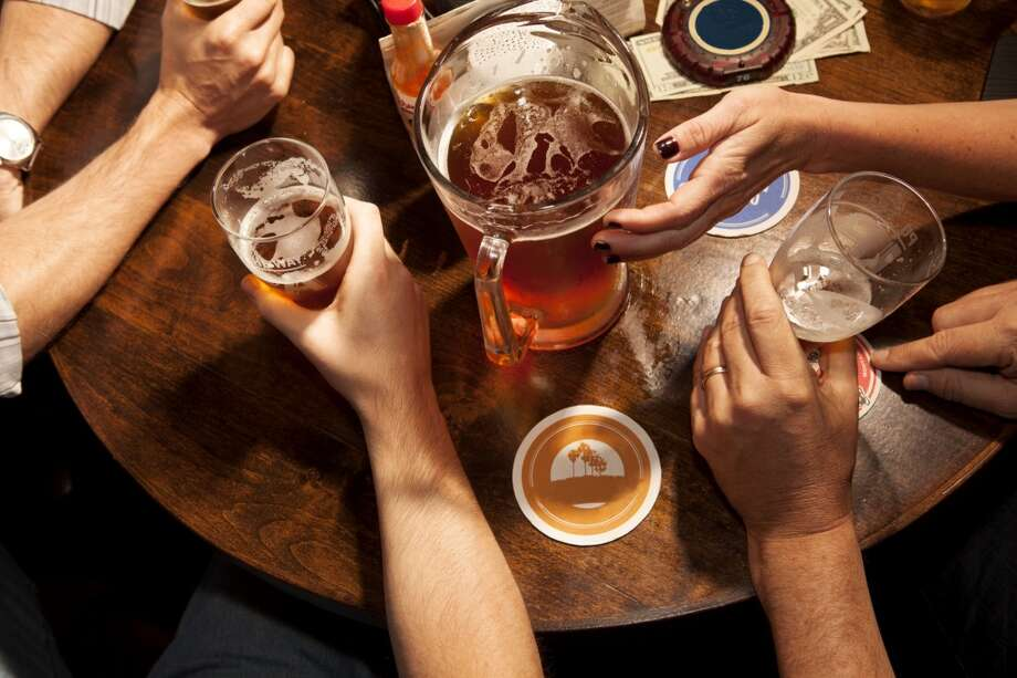 Keep the drink count lowWhile most people have a drink limit when they are hanging out with friends, the drink limit you place on yourself should be even lower when socializing with coworkers. Also, keep in mind that drinks with colleagues doesn't have to mean alcoholic beverages -- a soda or juice will do just fine. Photo: Alyson Aliano, Getty Images