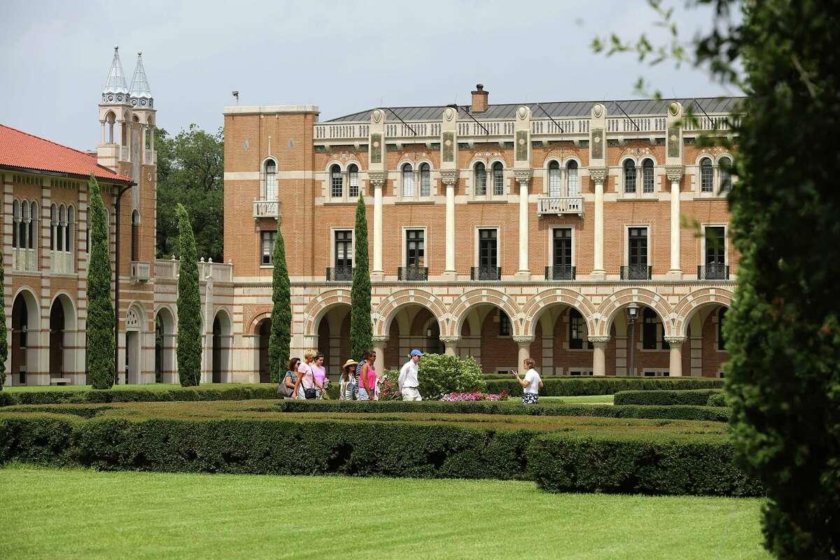 Rice University 1 in Texas 13 in U.S.