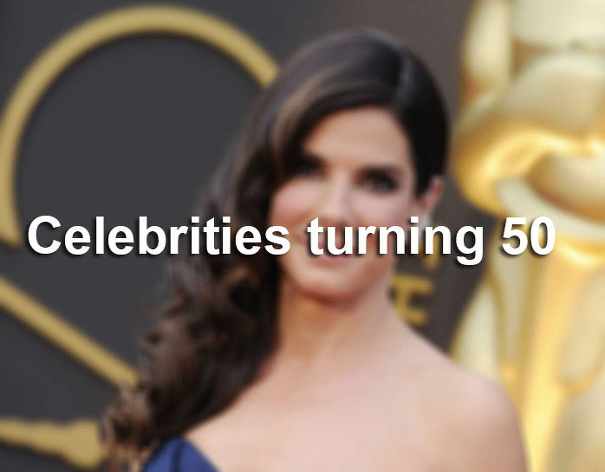 Along with Bullock, many other celebs have hit - or will soon hit - the eligibility age for AARP. See who else is celebrating half a decade of life in 2014. (Photo: Academy Awards, March 2014).