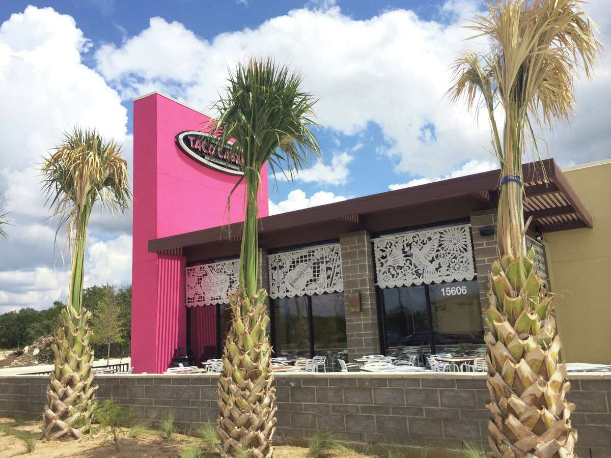The new prototype for Taco Cabana's restaurants draws inspiration from the interior of Mexico and Alamo City artists have helped design and fill the walls with authentic-style architecture and photography.
