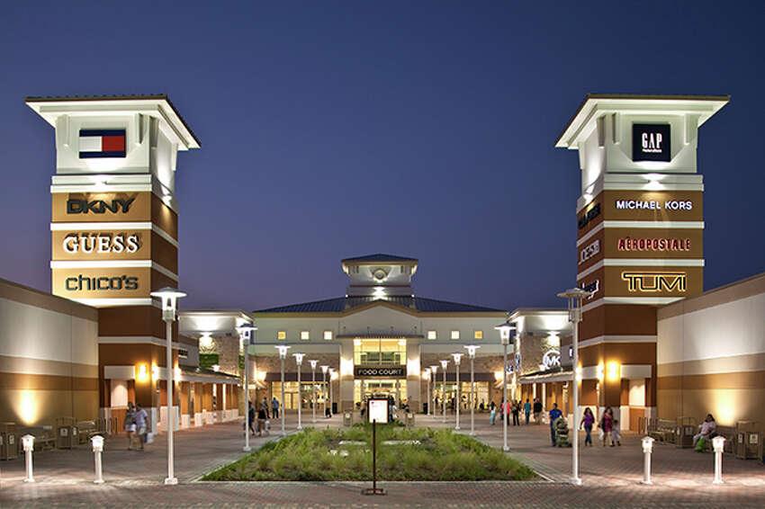 #8 Grand Prairie - Total score: 59.91- Recreation Rank: 57- Rest & Relaxation Rank: 11  A Paragon outlet mall in Grand Prairie, Tx