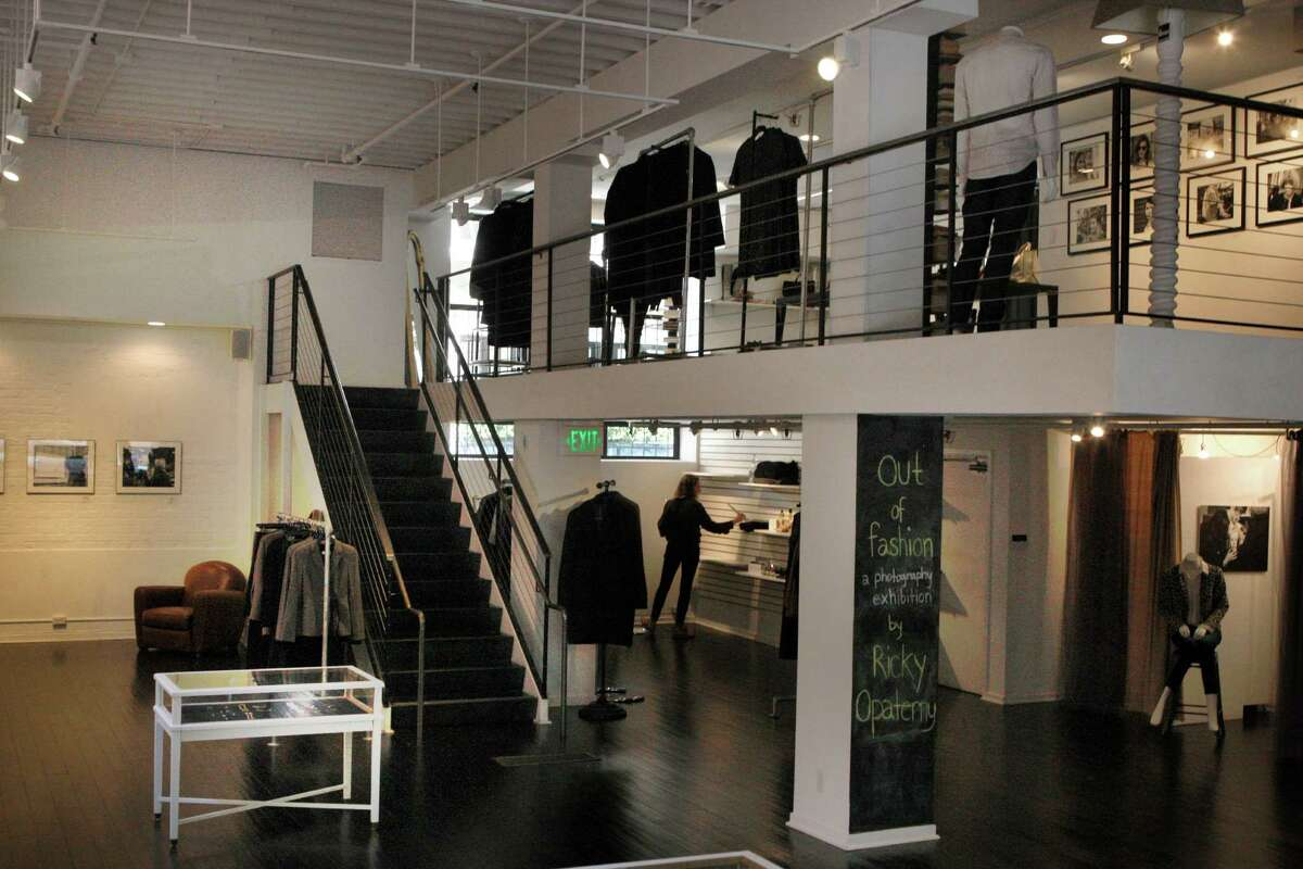 A view of the first and second floor of La Boutique in the Jackson Square area of S.F.