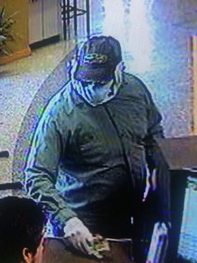 The suspect shown robbed the Frost Bank at 13226 Vance Jackson on Friday morning. Although there is little known by way of description at this time, anyone with information is asked to call Crimestoppers at 224-STOP. Photo: San Antonio Police Department