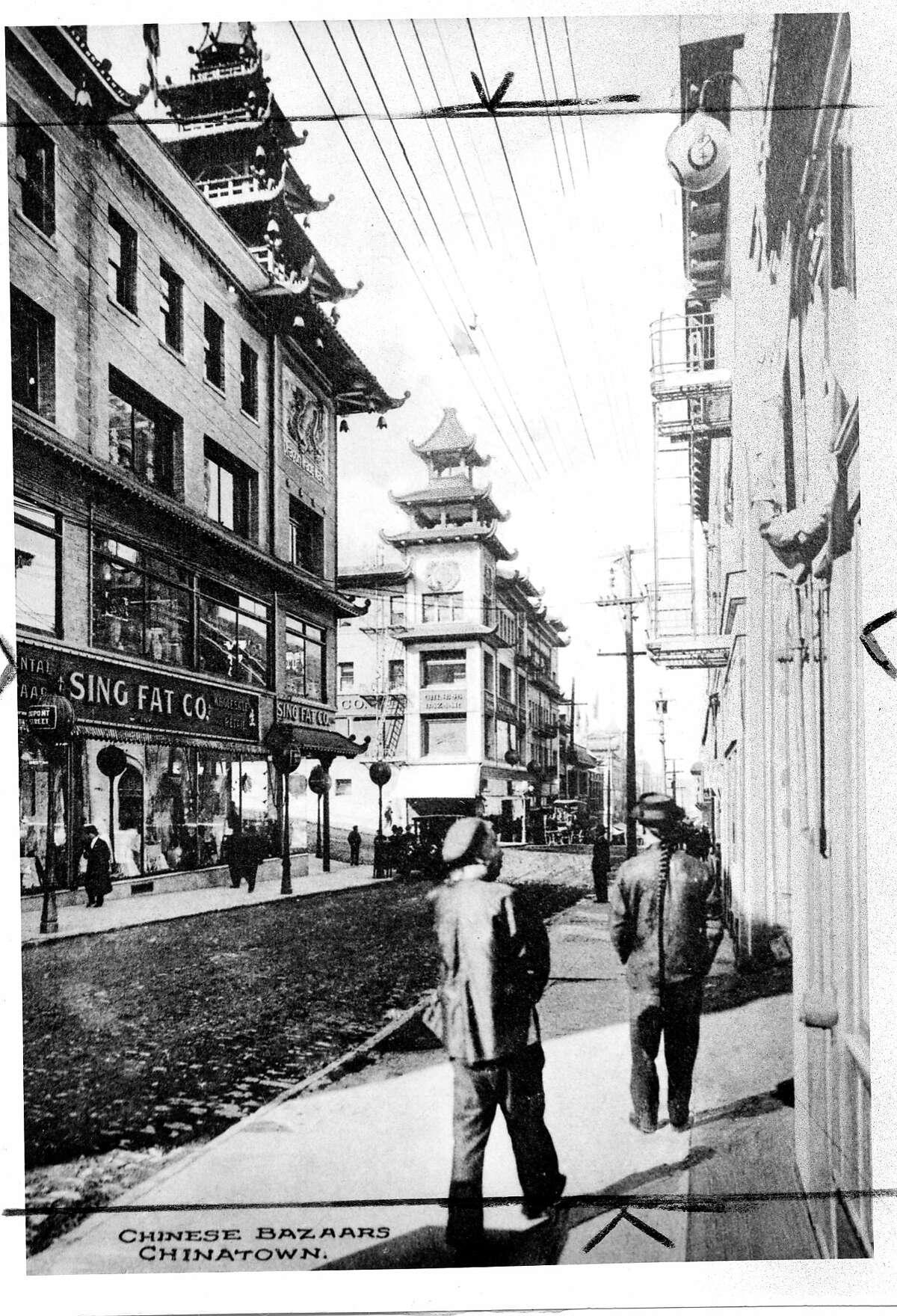 Chinatown in San Francisco, 1913 No credit information Photo ran 05/23/1978 P. 16