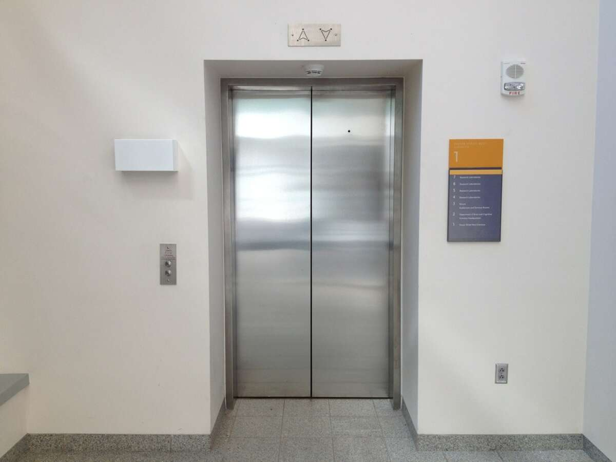 """""""This guy is the one getting paid to hang out in elevator shafts ensuring that all pieces and parts are working correctly so that buildings can go about their business without worrying they'll lose a bunch of people in an elevator accident."""" - worthly.com"""