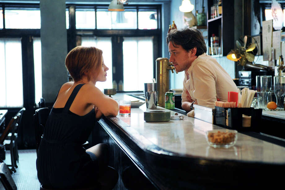 THE DISAPPEARANCE OF ELEANOR RIGBY - 2014 FILM STILL - Jessica Chastain AND James McAvoy - Photo Credit: Sarah Shatz  A©2014 The Weinstein Company. All rights reserved. Photo: SARAH SHATZ / © 2014 The Weinstein Company. All Rights Reserved.