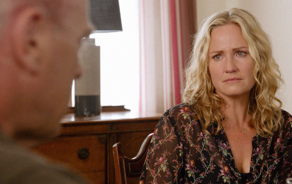 Sherry Stringfield now stars as Pauline in the sci-fi mystery series
