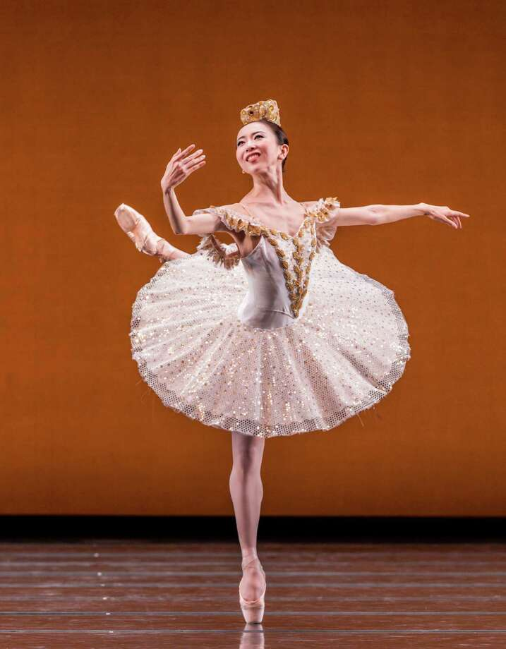 "Yuriko Kajiya sparkles in Stanton Welch's ""Paquita."" Photo: Amitava Sarkar / ONLINE_YES"