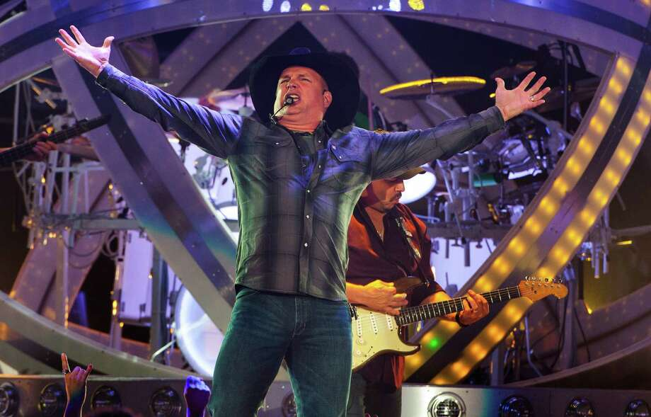 Country music star Garth Brooks will play July 22-23 at the AT&T Center. Photo: Barry Brecheisen, Associated Press / Invision