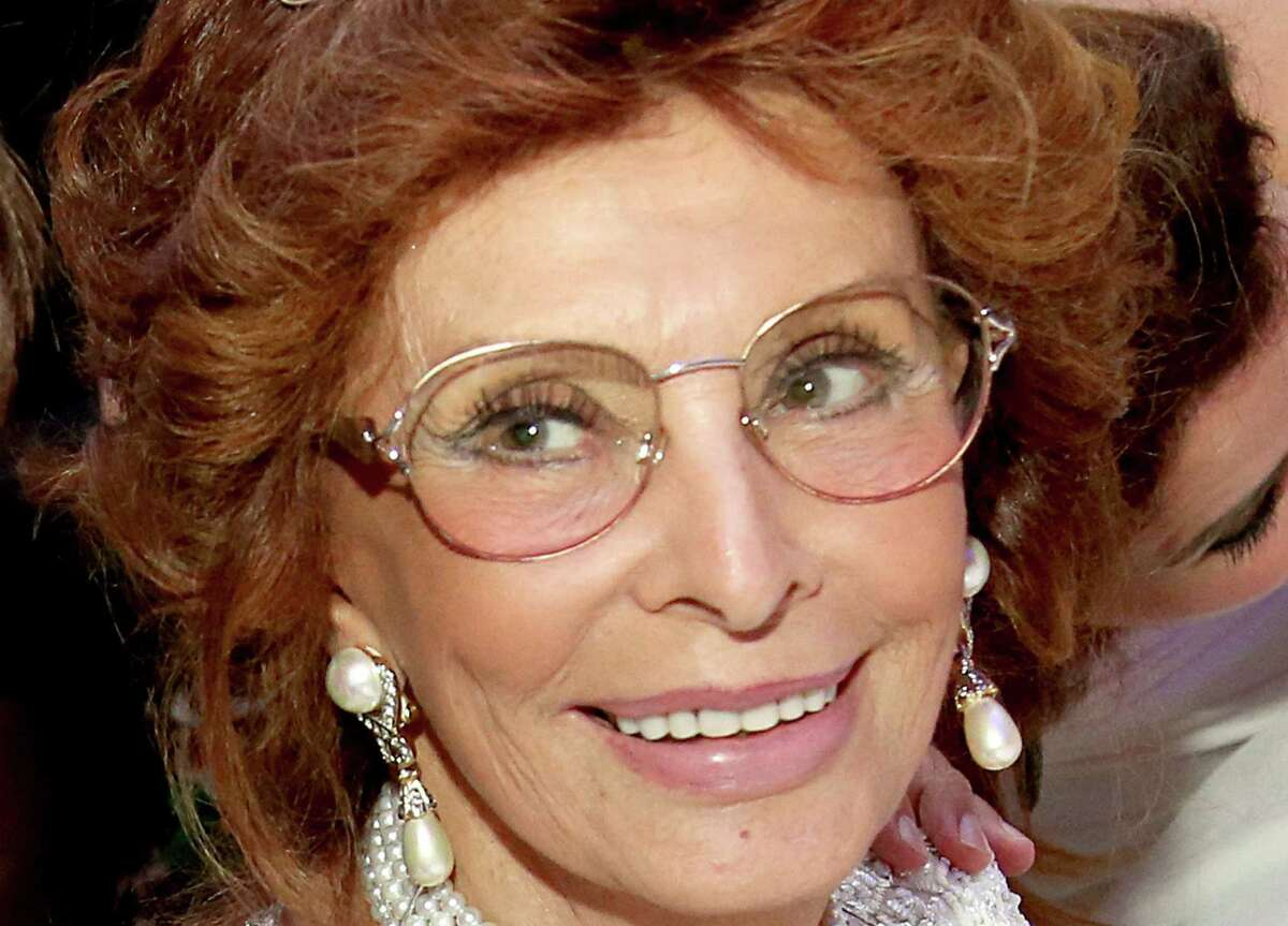 FLORENCE, ITALY - SEPTEMBER 05: Actress Sophia Loren attends the white party dinner hosted by Andrea and Veronica Bocelli celebrating Fight Night In Italy benefitting The Andrea Bocelli Foundation And The Muhammad Ali Parkinson Center on September 5, 2014 in Florence, Italy.