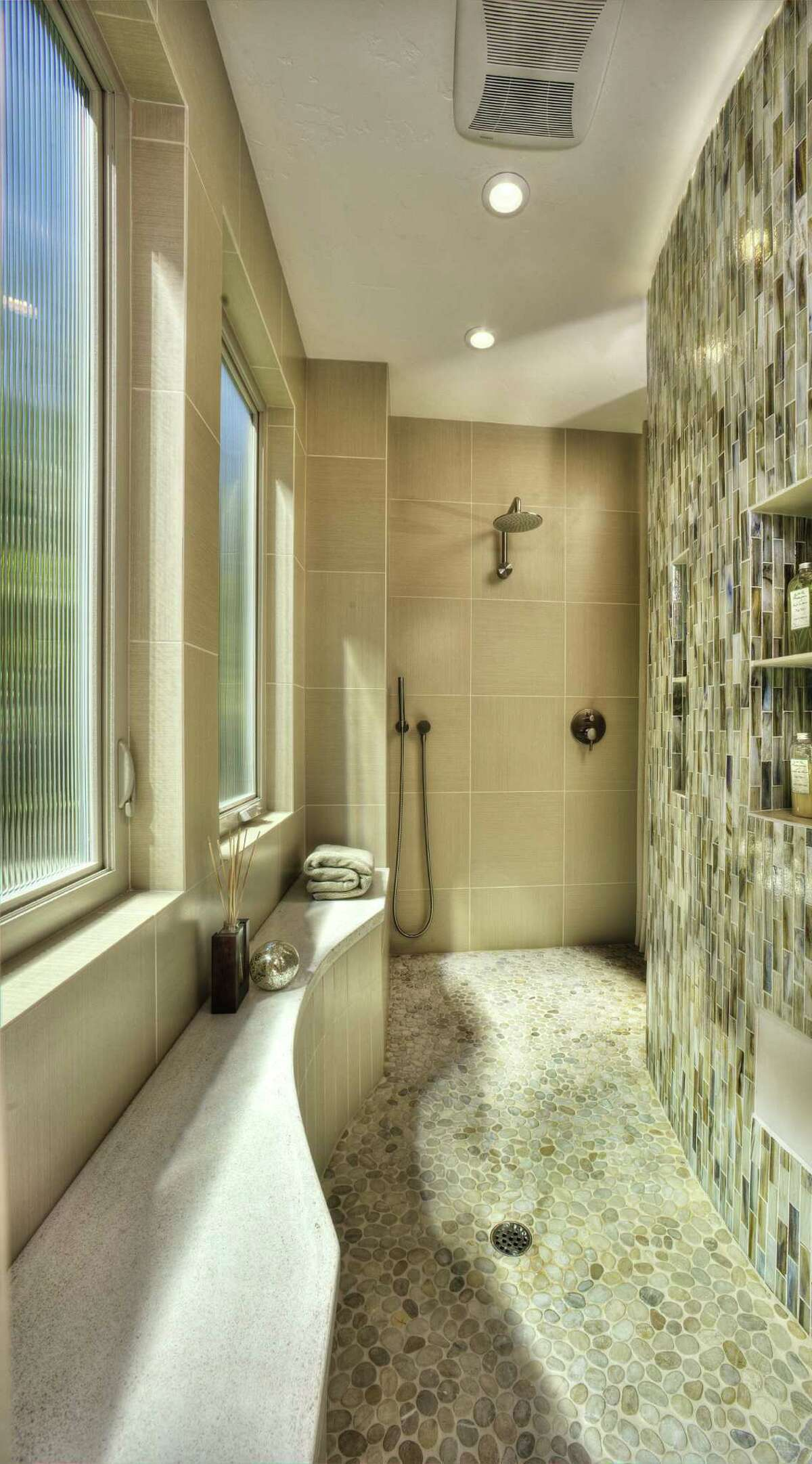 Homeowners want accessible showers that offer a spa feel and are easy to clean and maintain.
