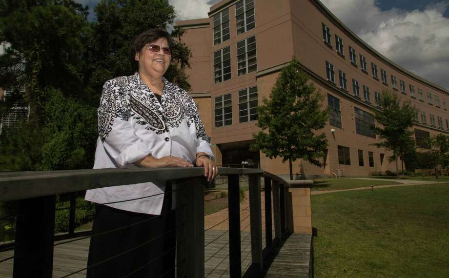 "Sister Norma Gutierrez is a chaplain at CHI St. Luke's Health in The Woodlands. ""I'm humbled every time ... I was able to be there with them at a moment so sacred...."" Photo: Photos By Billy Smith II / Houston Chronicle / © 2014 Houston Chronicle"