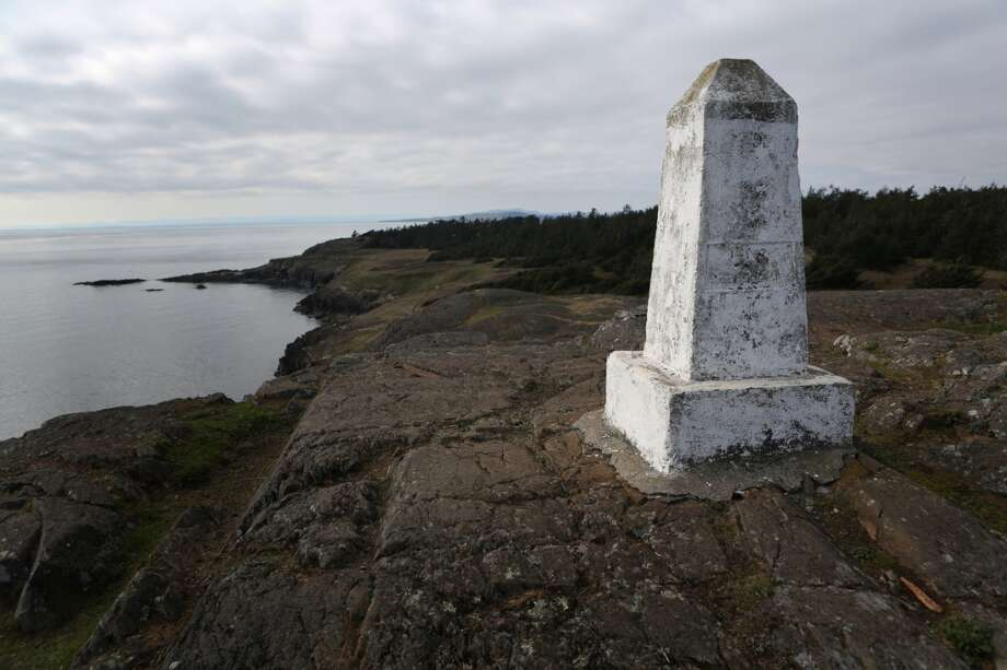 Iceberg Point is shown on Lopez Island as the San Juan Islands National Monument is celebrated on Monday, April 1, 2013. (Joshua Trujillo, seattlepi.com)
