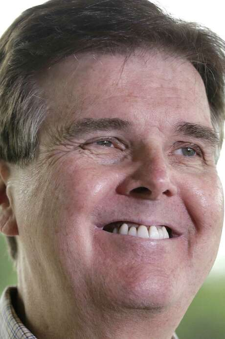 """Sen. Dan Patrick says he has """"been the hardest-working guy on the campaign trail."""" Photo: Pat Sullivan, Associated Press / AP"""