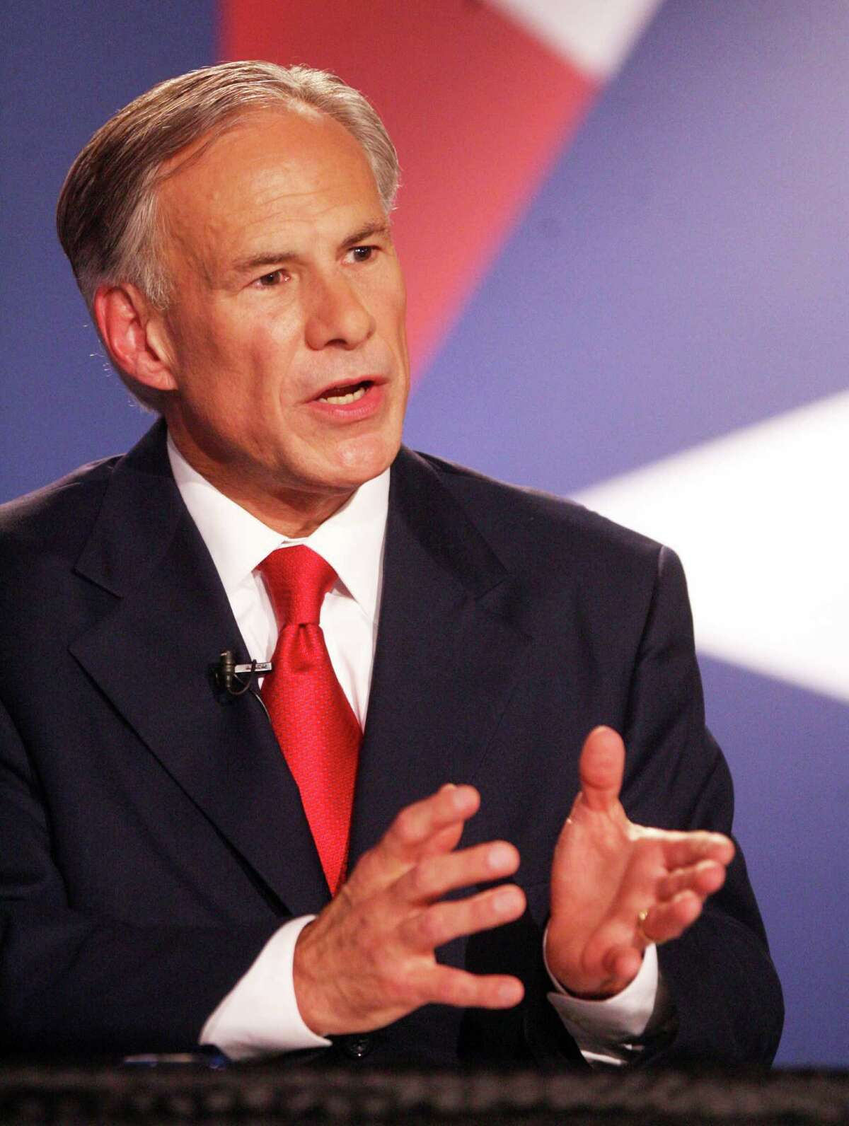 """Attorney General Greg Abbott says he's running for governor to make Texas """"even better."""""""
