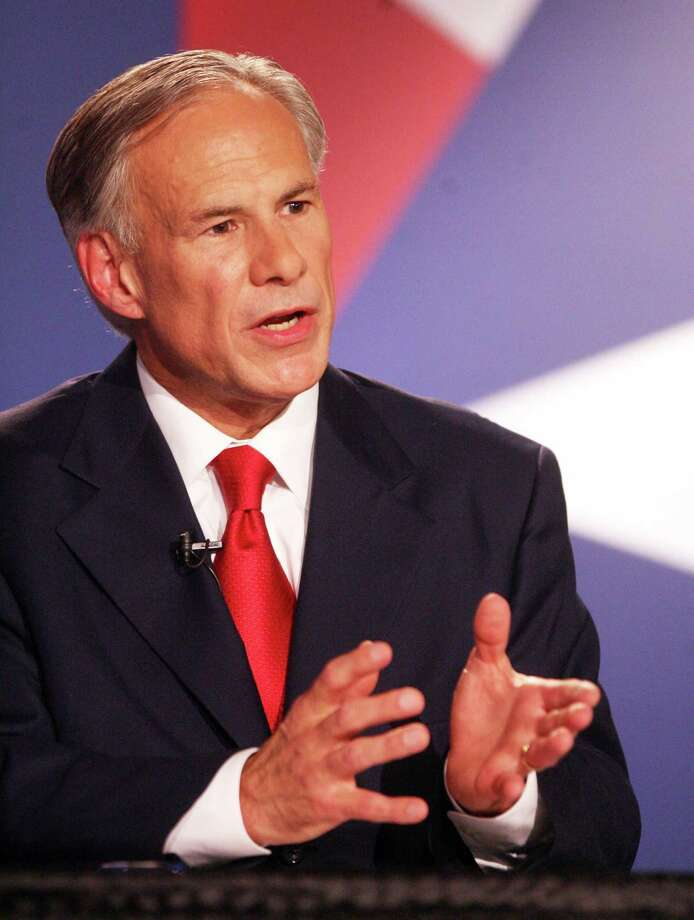 "Attorney General Greg Abbott says he's running for governor to make Texas ""even better."" Photo: Joel Martinez, POOL / POOL The McAllen Monitor"