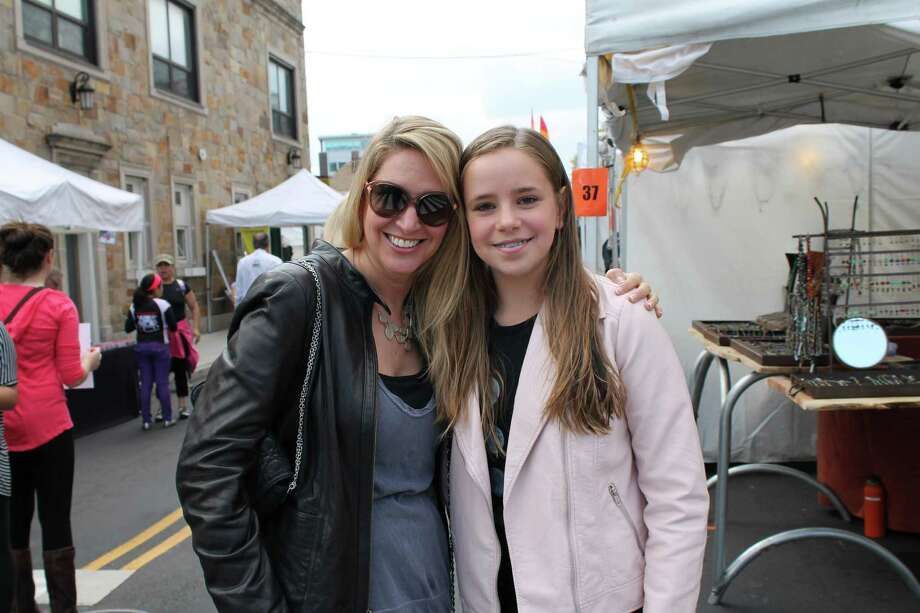 The annual Arts & Crafts on Bedford event took place in Stamford on the weekend of September 20 and 21, 2014. Craft and artisan boutiques and sidewalk cafes lined Bedford street for the weekend.There was also live music and activities for kids. Were you SEEN on Saturday? Photo: KLM, Kasey Hilleary / Hearst Connecticut Media Group