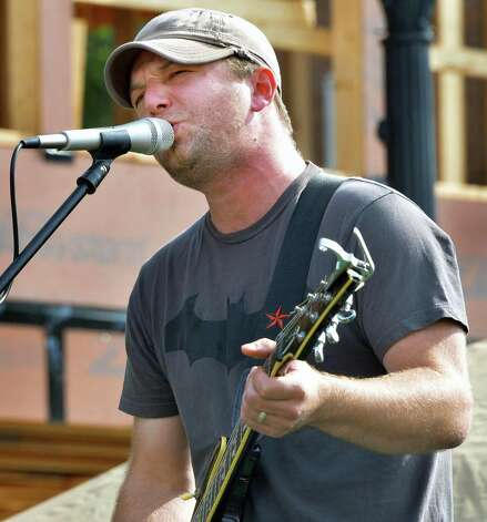 Chris Dukes performs with his band at this year's LarkFest Saturday Sept. 20, 2014, in Albany, NY.  (John Carl D'Annibale / Times Union) Photo: John Carl D'Annibale / 00028421A