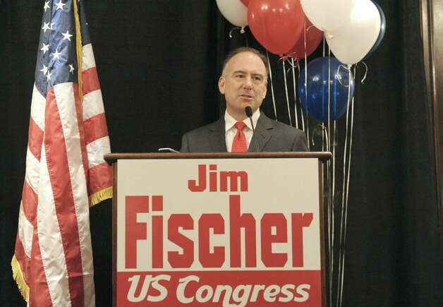 Republican candidate Jim Fischer announces his campaign for the 20th Congressional district on Tuesday March 11, 2014 in Colonie, N.Y. (Michael P. Farrell/Times Union) Photo: Michael P. Farrell / 00026087A