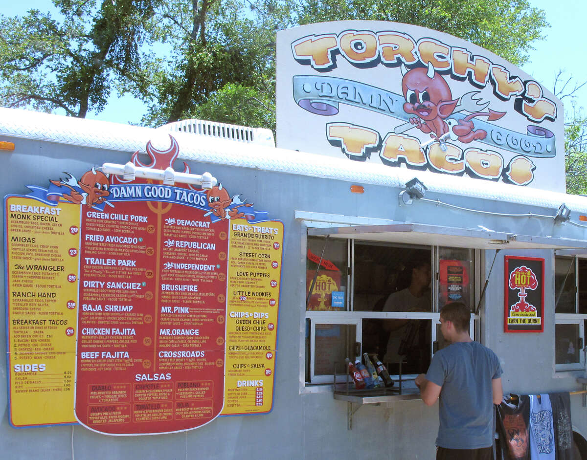 Torchy's Tacos is among the scores of food trucks that have become a staple of Austin's dining scene.