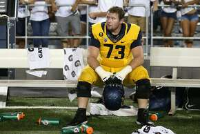 Offensive lineman Jordan Rigsbee was one of five players named a team captain this year.