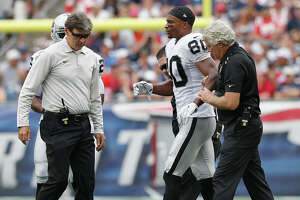Raiders' Rod Streater returns to practice after breaking foot - Photo