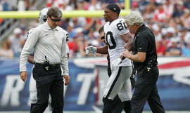 Rod Streater, Oakland's top receiver in 2013, returned to practice after hurting his foot Sept. 21.