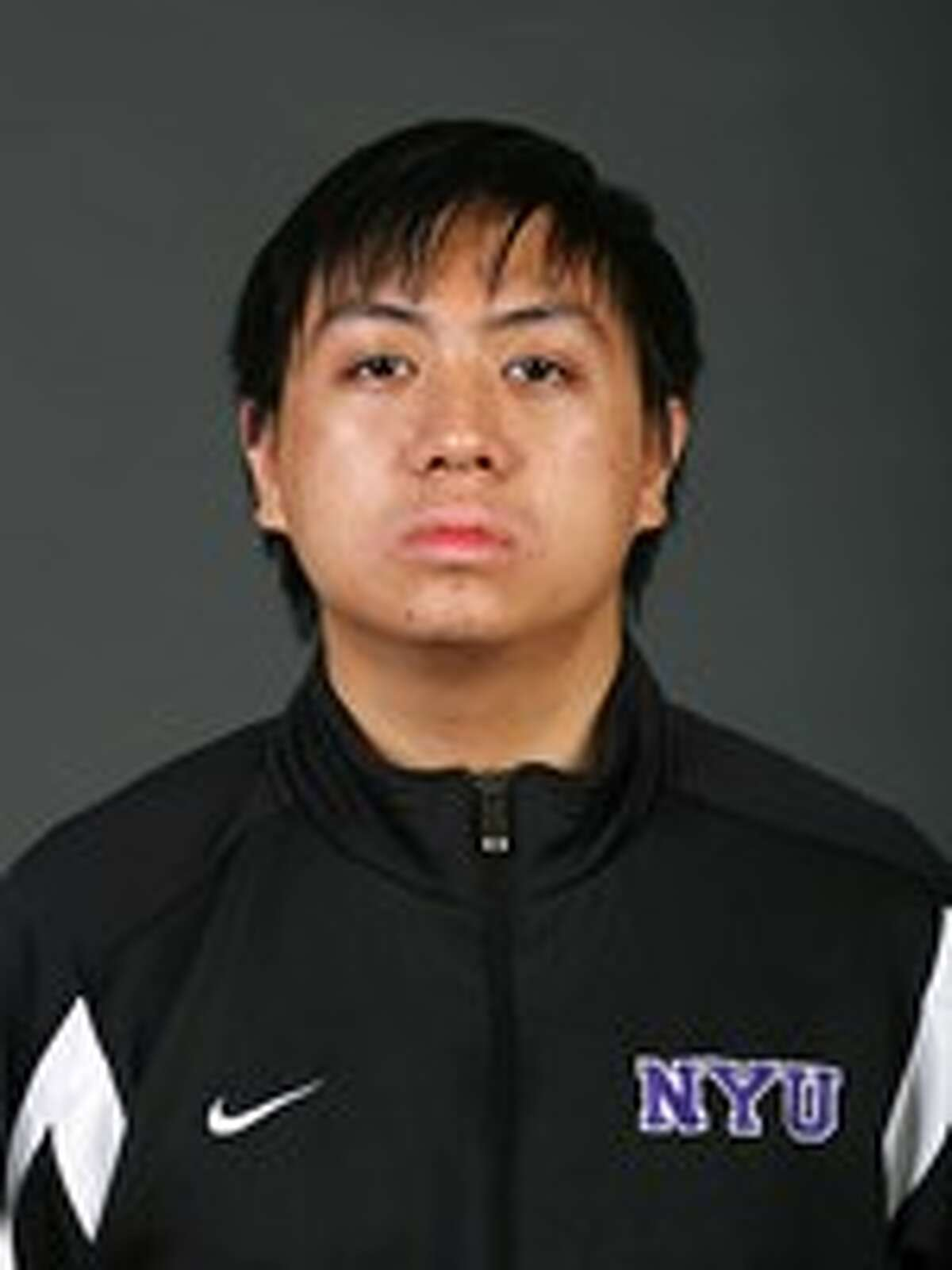 A New York University fencing team photo of Jonathan Tang, 24, of Brooklyn, who drowned in Stewart's Pond in Hadley, Saratoga County Sept. 20, 2014. He was currently attending Columbia University medical school.