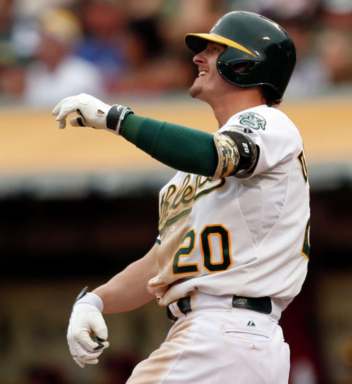 Josh Donaldson was one of the A's top sluggers during the past three seasons.