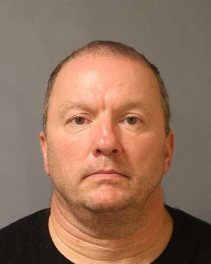 Michael Ormsby, 51, of Plattsburgh, was charged with making a terroristic threat, a felony, on Sept. 20, 2014 for allegedly making threats by phone call to a state Office for People with Developmental Disabilities office in Saratoga Springs (Police provided photo)