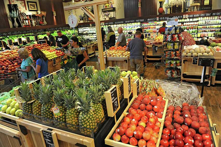Produce department at the new Saratoga Springs Fresh Market grocery store Wednesday, May 14, 2014, on Marion Ave. in Saratoga Springs, N.Y. This is the second Fresh Market store in the Capital Region. (Lori Van Buren / Times Union)