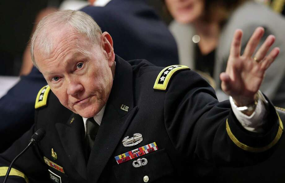 Chairman of the Joint Chiefs of Staff Gen. Martin Dempsey's honest testimony is a political hedge for the administration. Photo: Chip Somodevilla / Getty Images / 2014 Getty Images