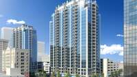 Second downtown residential tower - Photo