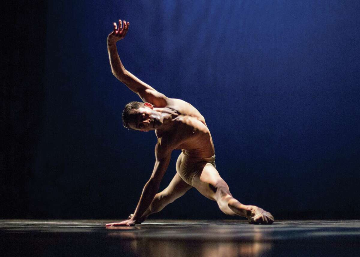 Dancer Chadi El-Khoury,one of several artists and choreographers featured in the first annual PUSHFest at ODC Theater Sept.18-21. Photo by Philip Koenig