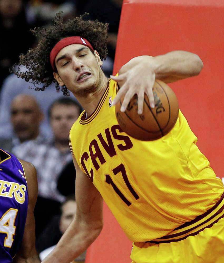 Anderson Varejao Cleveland Cavaliers Injured his achilles Dec. 23, 2014. Out for the season.