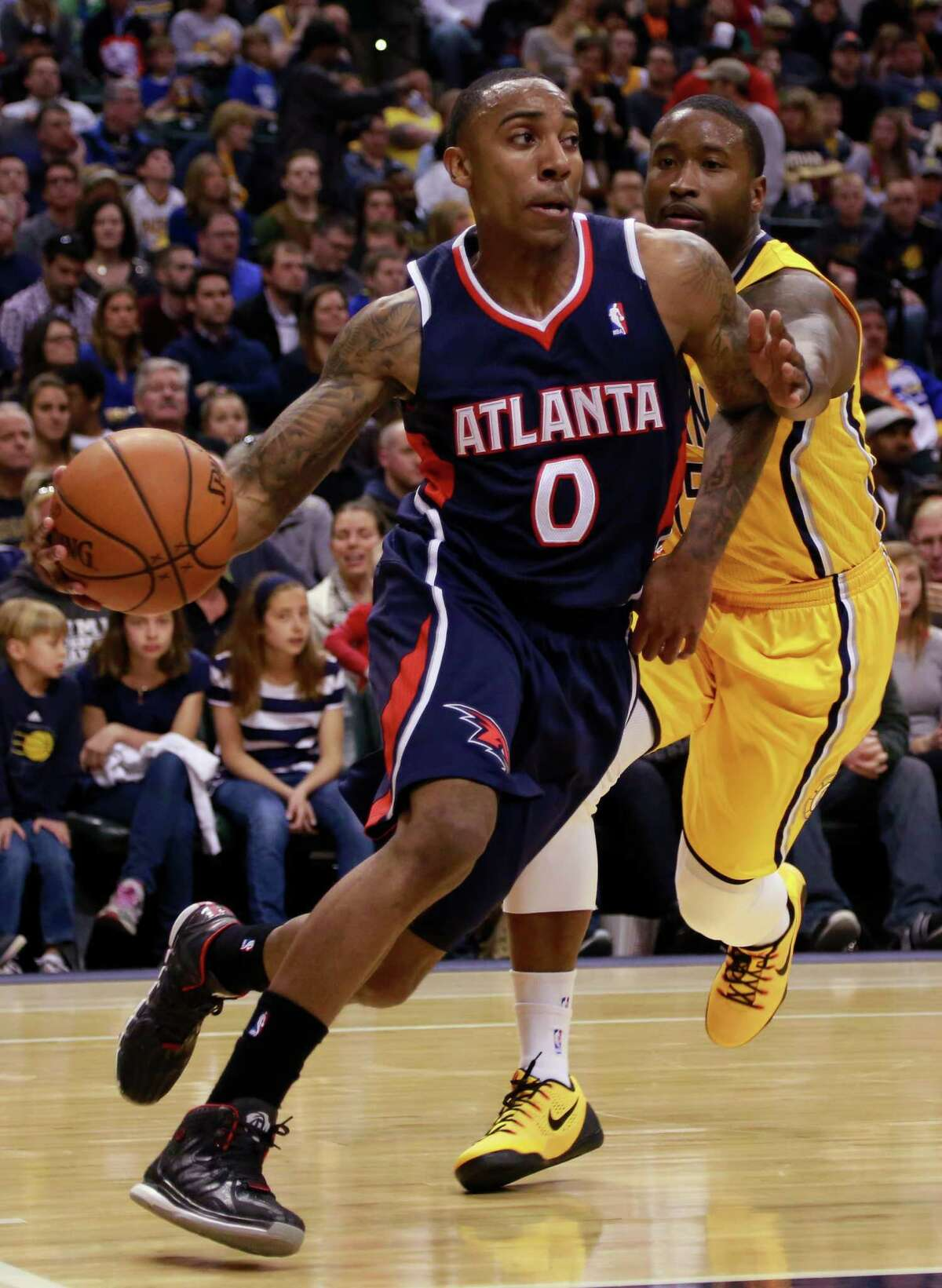 Worst/cheapest seat:$10.00 The home opener for Jeff Teague and the Atlanta Hawks is Nov. 1 against the Indiana Pacers.