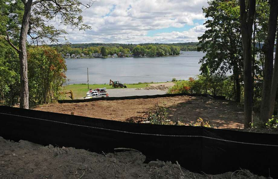 Saratoga Springs breaks ground on its Waterfront park, granting public access to Saratoga Lake on Monday, Sept. 22, 2014 in Saratoga Springs, N.Y. This is a view from what will be the parking lot where boater can park their car after putting in at the lake. The site had served as the location of the privately owned Ryall?s Beach from the 1940s to the 1960s, and the Waterfront Restaurant from 1983 until 2006. (Lori Van Buren / Times Union) Photo: Lori Van Buren / 00028699A