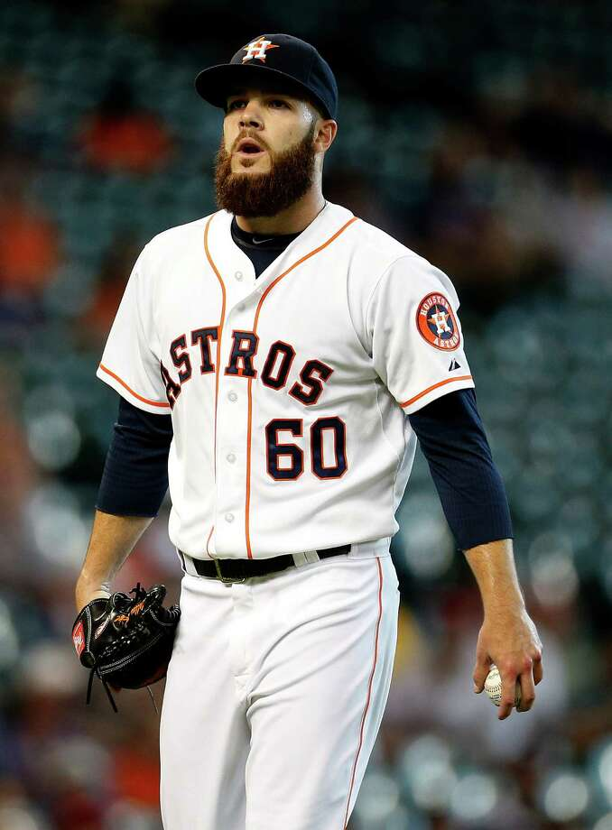 Dallas Keuchel finished the season with a 12-9 record and 2.93 ERA in exactly 200 innings. Photo: Karen Warren, Staff / © 2014 Houston Chronicle