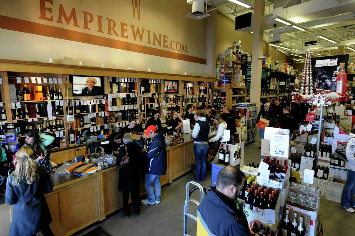 Foodstuffs: Best wine store: Empire Wine , Colonie (Michael P. Farrell/Times Union )