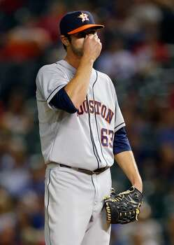 September 22: Rangers 4, Astros 3  Astros rookie Nick Tropeano pitched well enough to get the win but served up a late mistake to take the loss.  Record: 69-88. Photo: Tom Pennington, Getty Images