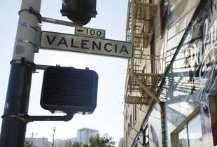 "Valencia is a controversial word we missed. Is it ""va-LEN-see-ah"" or ""va-len-CHA?"" While the former is more common, many S.F. natives say the latter. The Chronicle's Carl Nolte insists it's ""va-len-CHA,"" which is also what the 22 Muni line says. Good job, Muni."