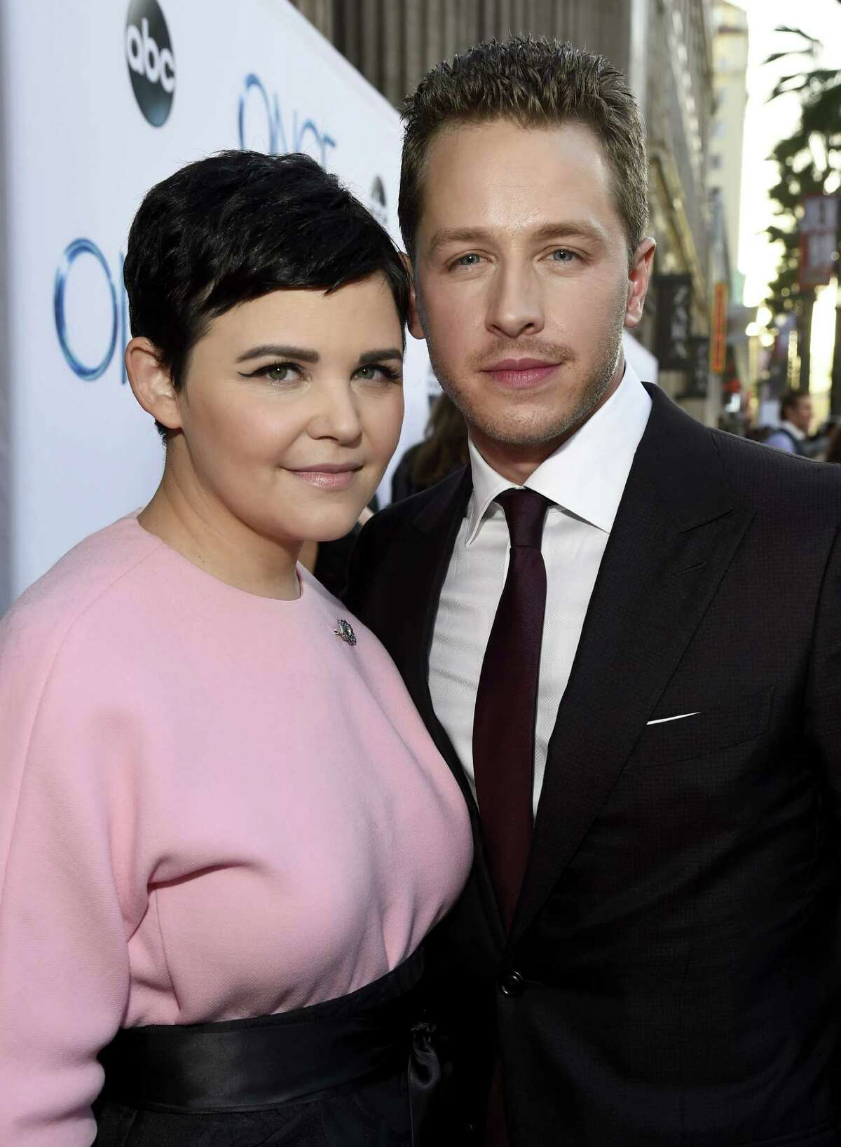 """Actress Ginnifer Godwin and Actor Josh Dallas attend a screening of ABC's """"Once Upon A Time"""" Season 4 at the El Capitan Theatre on September 21, 2014 in Hollywood, California."""