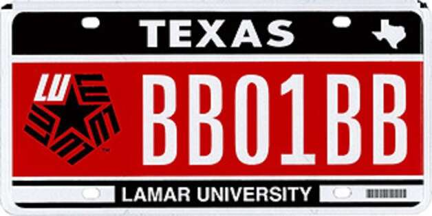 How To Order Your Lamar U License Plate Newstimes