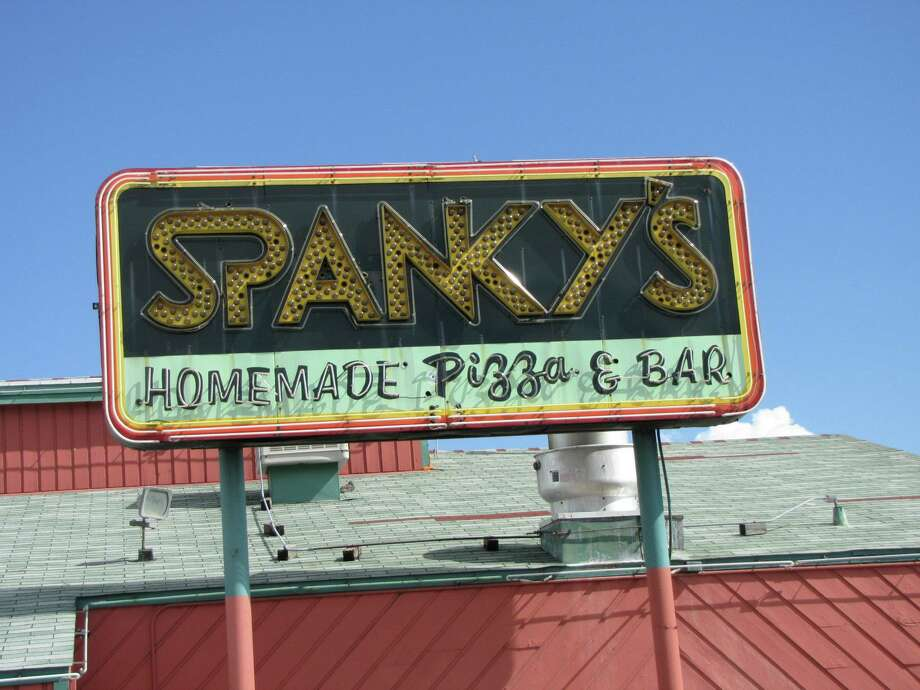 Spanky's famous sign is seen here in better times. The location suffered serious fire damage early Tuesday morning. No one was injured in the blaze. The owners plan to reopen in six weeks at a new location nearby. (Photo: Spanky's Facebook page)SLIDESHOW: More of Houston's best pizza restaurants ...