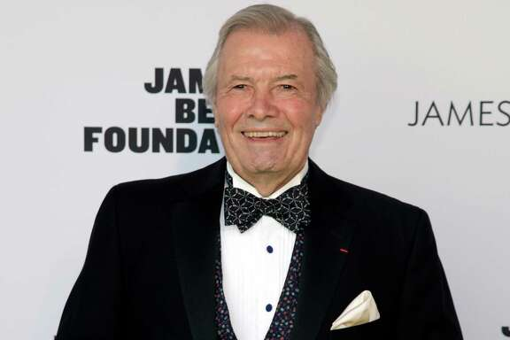 """FILE - In this May 5, 2014 file photo, restauranteur Jacques Pepin attends the 2014 James Beard Foundation Awards in New York. KQED Public Television, the San Francisco-based public television affiliate that has produced more than a dozen of Pepin's popular cooking series over the last quarter century, said in a release last week that it will begin recording Pepin's final series in October. Called """"Jacques Pepin: Heart and Soul,"""" the 26-episode series will draw on the chef's 60 years in the kitchen and on past episodes he has recorded. It is scheduled to air in the fall of 2015. A companion cookbook, published by Houghton Mifflin Harcourt, will be released in October 2015. (Photo by Andy Kropa/Invision/AP, File)"""