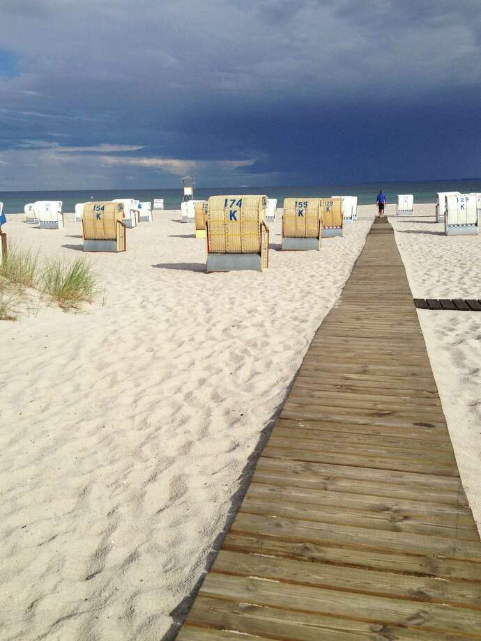 Chronicle reader Karin Knapp of Houston submitted this vacation photo taken on the beach in Gromitz, Germany. Photo: Karin Knapp / Karin Knapp