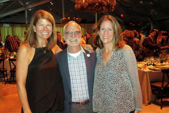 Dinner co-chair Martha Ehmann Conte (left), GGNPC's Greg Moore, co-chair Staci Slaughter.