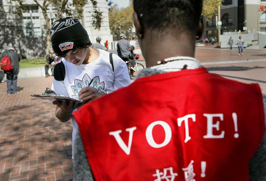 In all, there are 17.3 million registered voters in California, with 