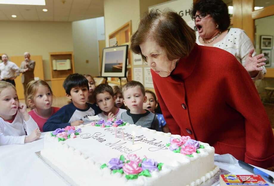 Synagogue Celebrates Generous 90 Year Old